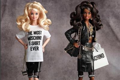Net-a-Porter, Mattel and Moschino launch fashion Barbie