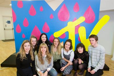 In pictures: MTV launches art trail in Glasgow