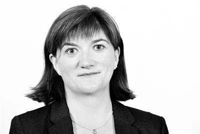 Nicky Morgan named culture secretary