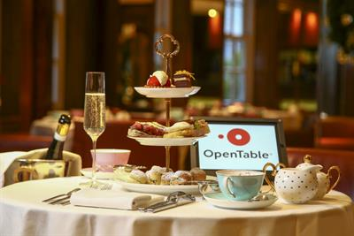 OpenTable aims to take the stress out of Black Friday with afternoon tea experience