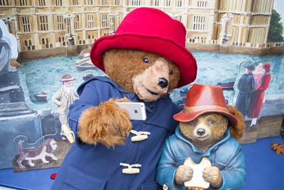 Paddington pop-up books installations promote new film