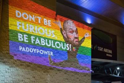 Paddy Power hijacks BBC Sports Personality of the Year with rainbow Tyson Fury image