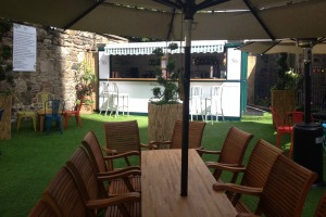Tanqueray opens Secret Gin Garden in Edinburgh