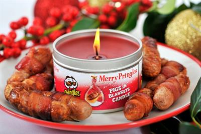 Pringles launches range of crisp scented candles