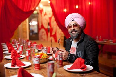 In pictures: Pimm's creates pop-up curry house