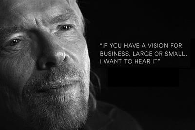 Richard Branson turns dragon with £1m 'Pitch to Rich' competition