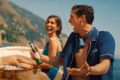 Peroni ad offers Mediterranean holiday porn to staycation-maddened public