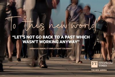 Financial Times calls on public to rise to the challenges of our time in new campaign