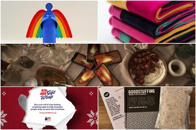 Scarves, stuffing and digital fires: the top five agency Christmas cards 2020