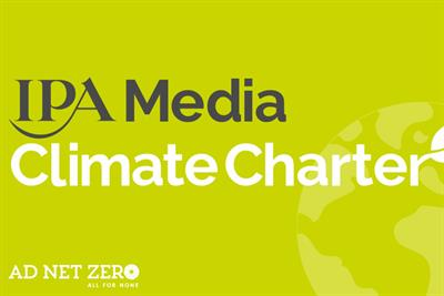 IPA launches Media Climate Charter to reduce carbon footprint of adspend