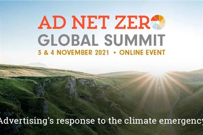 Ad Net Zero to host global summit during COP26 to educate adland on sustainable practice