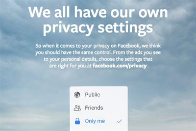 Facebook launches UK ad campaign to promote privacy controls