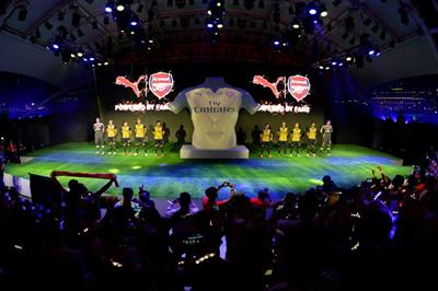Event TV: Innovision partners with Puma for Arsenal kit reveal