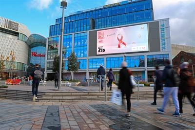 World Aids Day ad makes red ribbons dance on screen