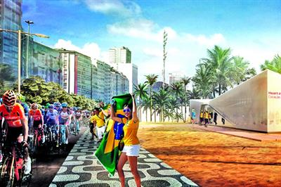 Global: The brand activations at Rio 2016