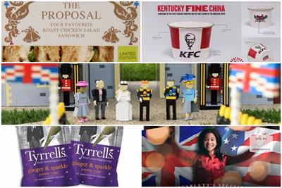 The Royal Wedding: how brands are getting involved for Prince Harry and Meghan's big day