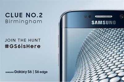 Samsung launches Twitter treasure hunt for Galaxy S6