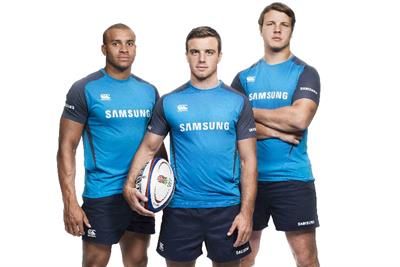 Samsung signs rugby trio for World Cup multi-platform campaign