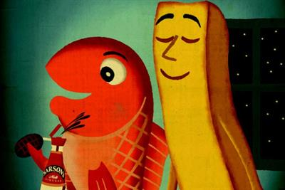 Sarson's retro ad campaign reminds UK that it's 'fish and chip Friday'