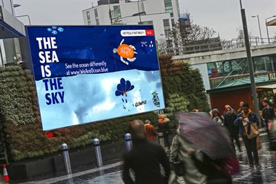 April showers trigger outdoor campaign