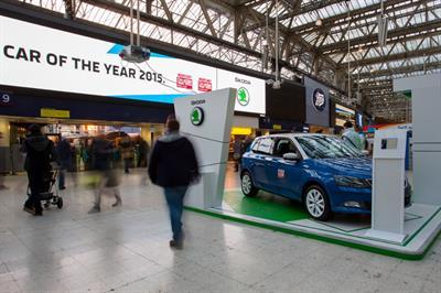 Event TV: Škoda creates AR activation in Waterloo