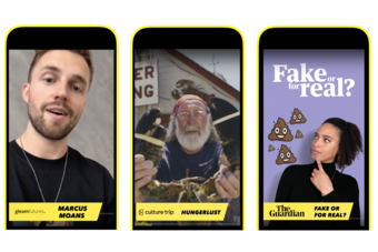 Snapchat launches TV-style content on Shows with non-skippable ads