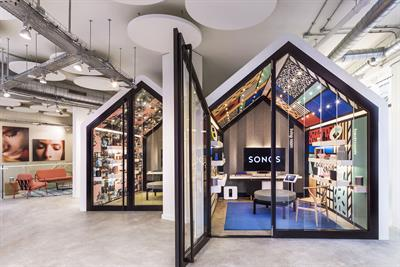 Sonos to launch first European concept store