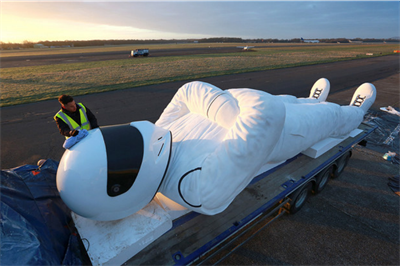 Global: Top Gear's #BigStig takes to the road for BBC Brit