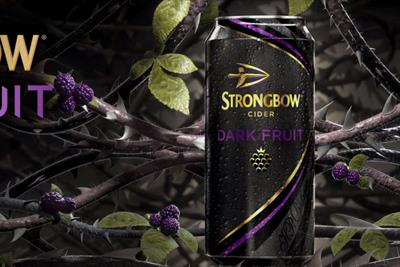 Strongbow creates Dark Fruit pop-up tattoo studio for superfans