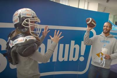 Event TV: StubHub certain to revive NFL activation in 2016