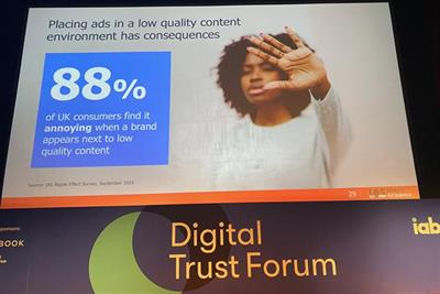 Online advertisers should evolve from 'brand safety' to 'brand suitability'