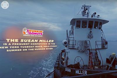 Dunkin' Donuts gives New York the limelight in 360 video