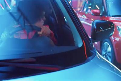 Suzuki ad imagines cars as fairground dodgems