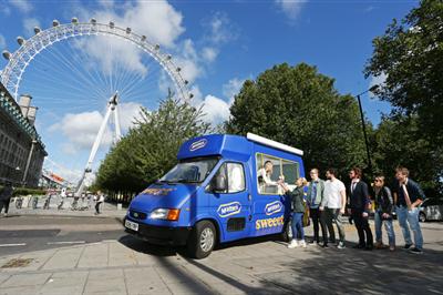 In pictures: McVitie's hits the road in branded ice cream van