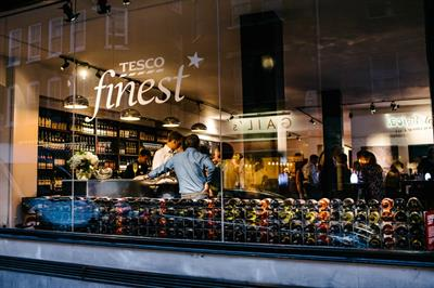 In pictures: Tesco Finest pop-up wine bar in Soho