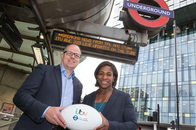 TfL partners with ITV to bring Rugby World Cup to commuters