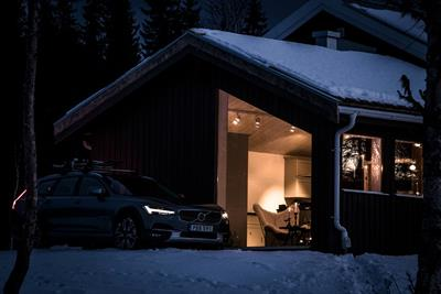 Volvo opens 'Get Away' lodge in Swedish mountains