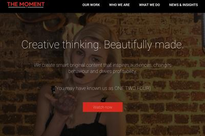One Two Four rebrands as The Moment