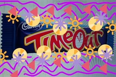 Cadbury's TimeOut launches Australian campaign with street art