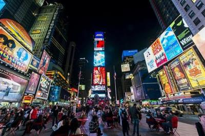 Global: Cosmo and Covergirl to activate at Times Square NYE