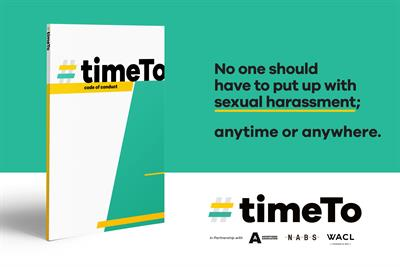 TimeTo calls #timesup on sexual harassment in ad industry