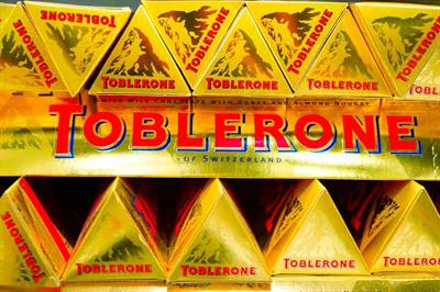 Toblerone changes its iconic shape to cut costs