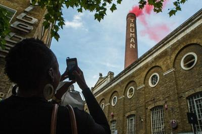 In pictures: Truman Brewery smokes red, yellow and green for Desperados