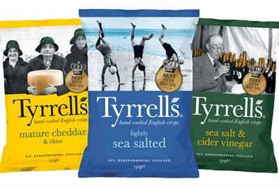 KP Snacks reviews Tyrrells, Popchips and KP Nuts ad accounts