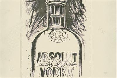 Absolut Vodka and Punchdrunk launch app featuring Andy Warhol illustrations