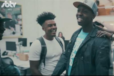 Jamal Edwards' SBTV and Jamie Oliver team up for rap video made with 'kitchen sounds'
