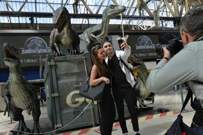 Four experiences to celebrate Jurassic World's release