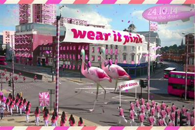 Breast Cancer Campaign crowd-sources videos for 'wear it pink' campaign