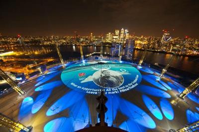 Event TV: Backstage at O2's RWC activation with Projection Artworks