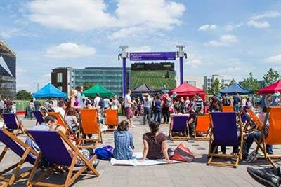 Wimbledon big screen returns to King's Cross
